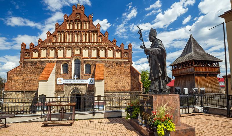 Basilica of St. Nicholas the Bishop in Bochnia - Sanctuary of Our Lady of the Rosary