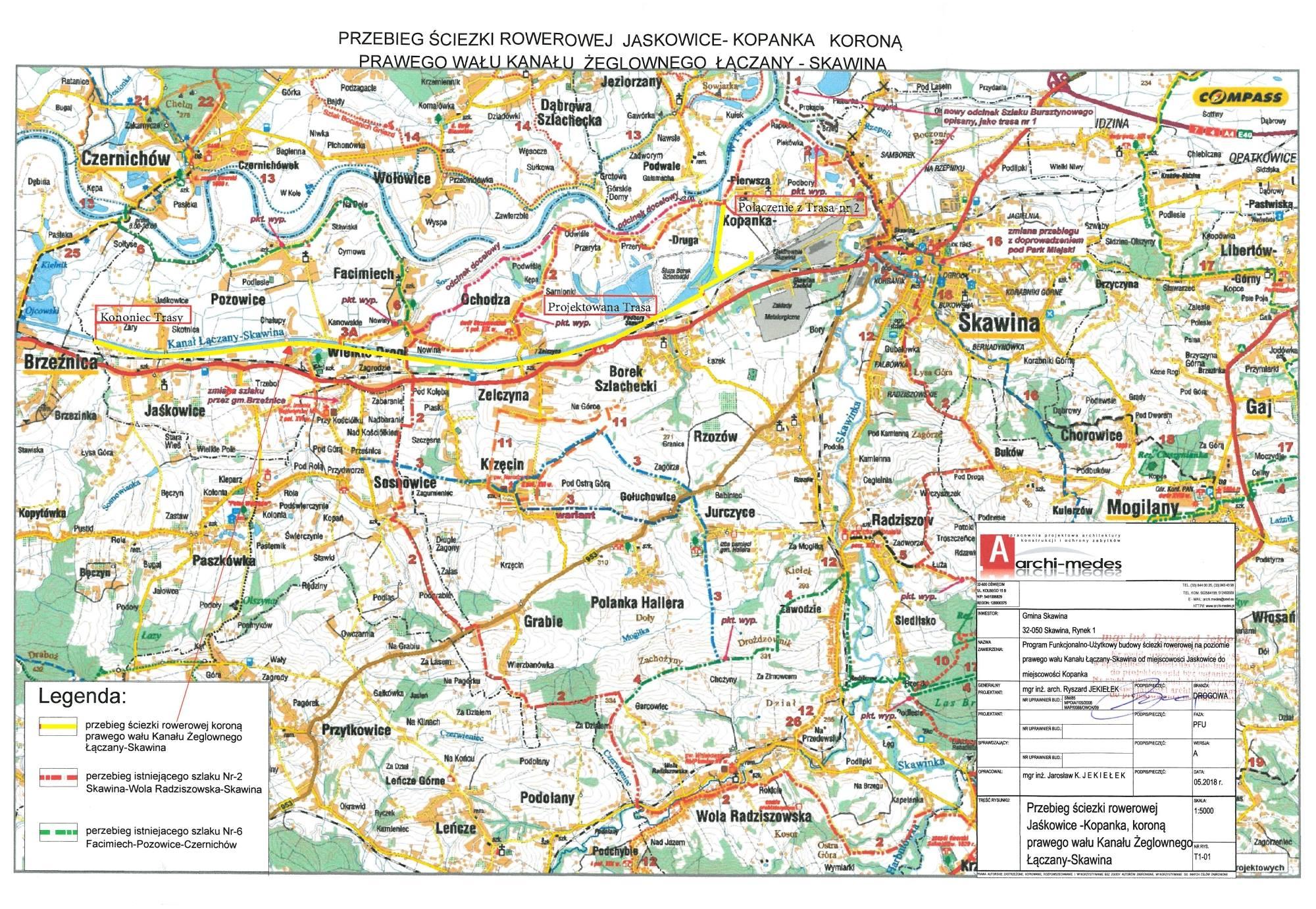 Powstanie Nowa Trasa Rowerowa Wzdluz Kanalu Laczany Artykul